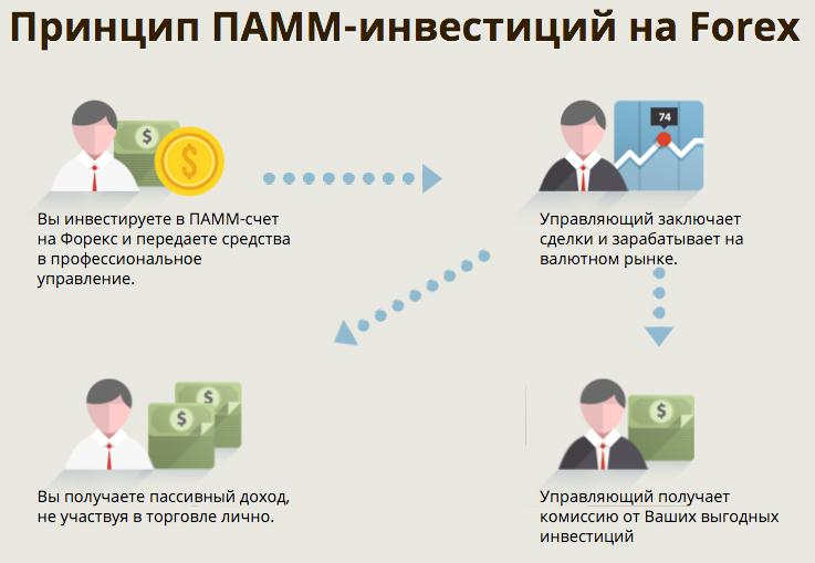 Принцип инвестиций в памм-счета