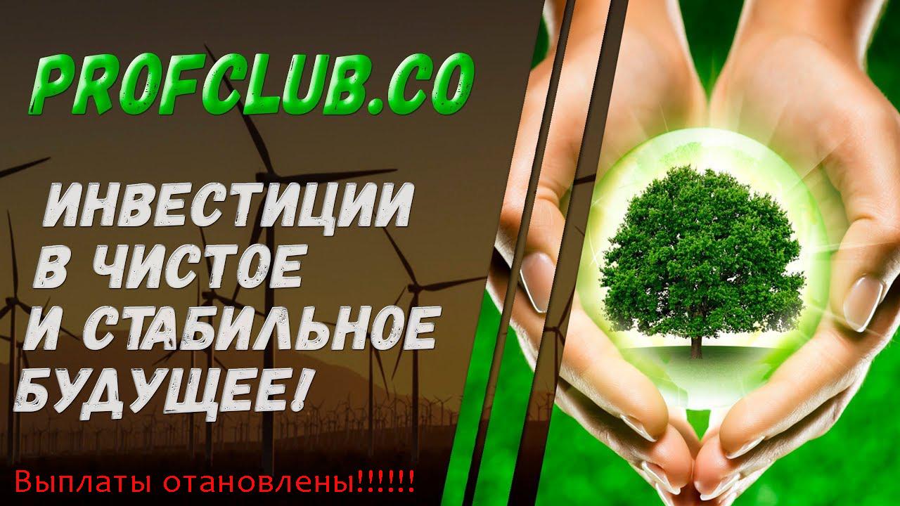 Актуальная информация о хайпе Profclub