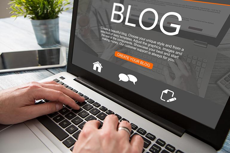 В своем блоге